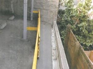 コンクリートブロック改修工事