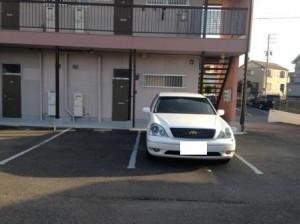コーポみやび駐車場