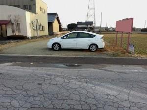 一宮市浅井町トラック駐車場
