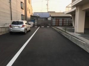 船方小学校前駐車場