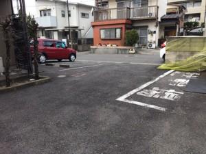 高蔵寺ハイム駐車場