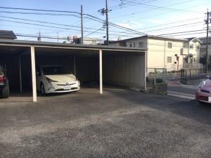 ガレージ平針(青空・屋根付き区画)