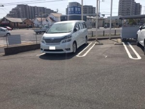 FK ConforDemeureⅡ駐車場
